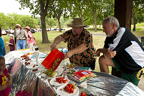 James Worley, Tomato Festival, Kansas City