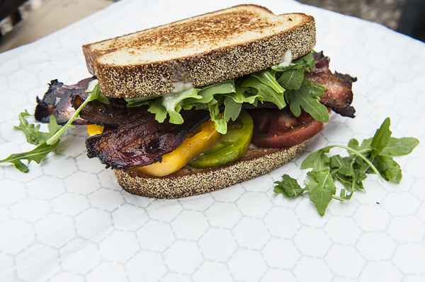 A luscious BLT from Pigwich.
